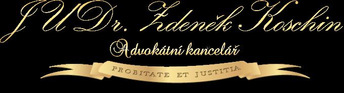 Logo JUDr. Zdeněk Koschin - Advokátní kancelář Praha 5